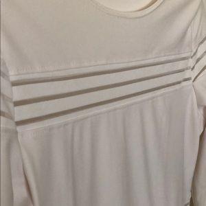 fashion house Dresses - All WHITE SPANDEX MIDI DRESS